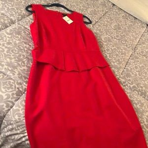 Brand New Red Dress from J.Crew, Size 12